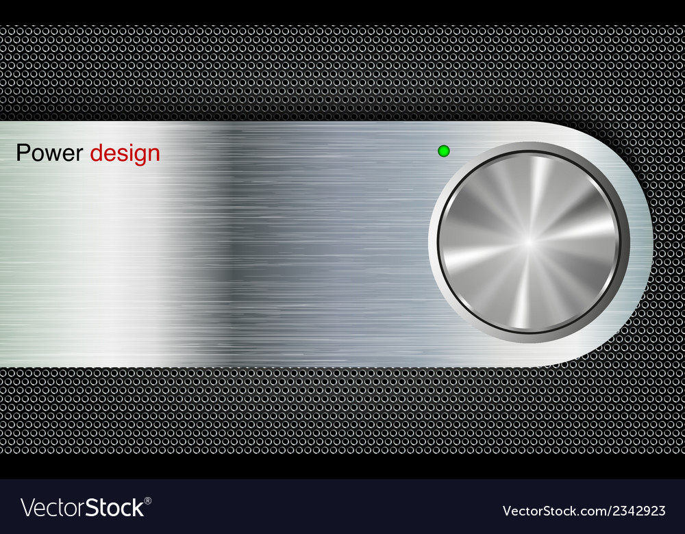 Metal button vector | Price: 1 Credit (USD $1)