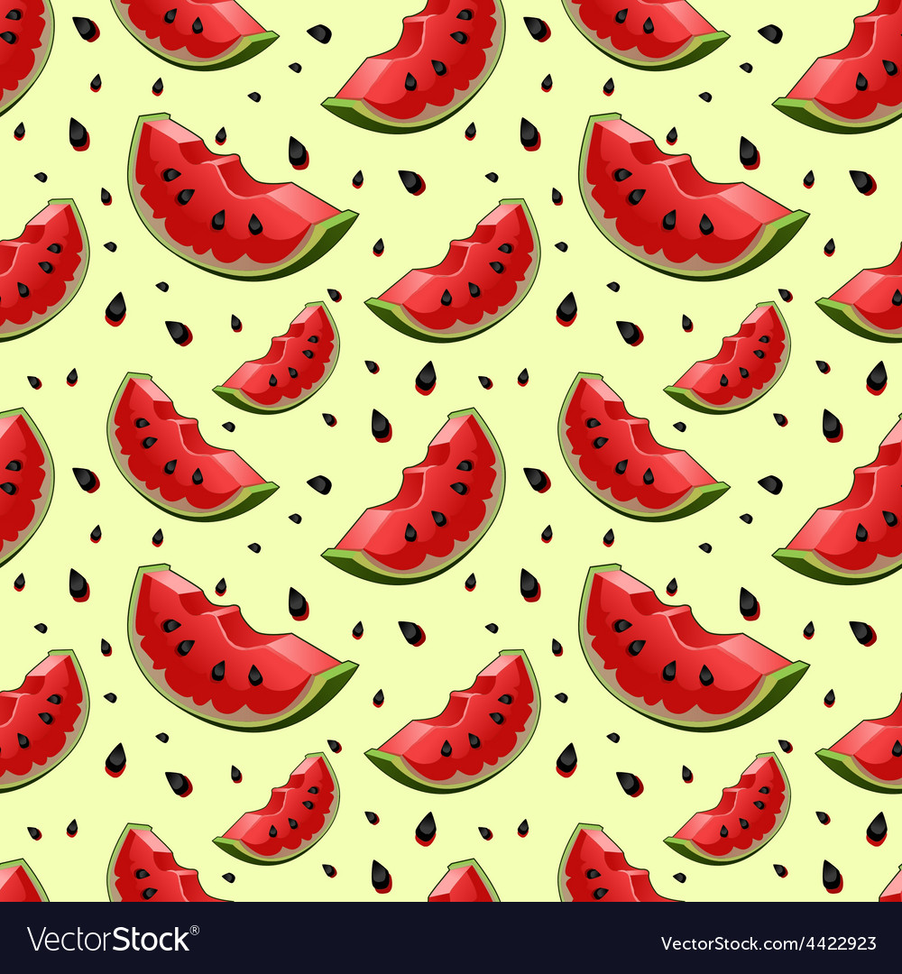 Seamless background with red fresh juicy vector | Price: 1 Credit (USD $1)