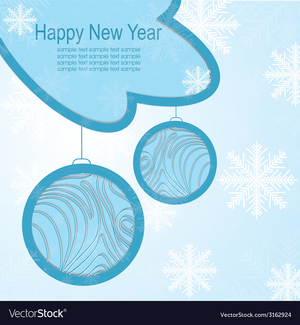 Christmas template frame design for greeting card vector   Price: 1 Credit (USD $1)
