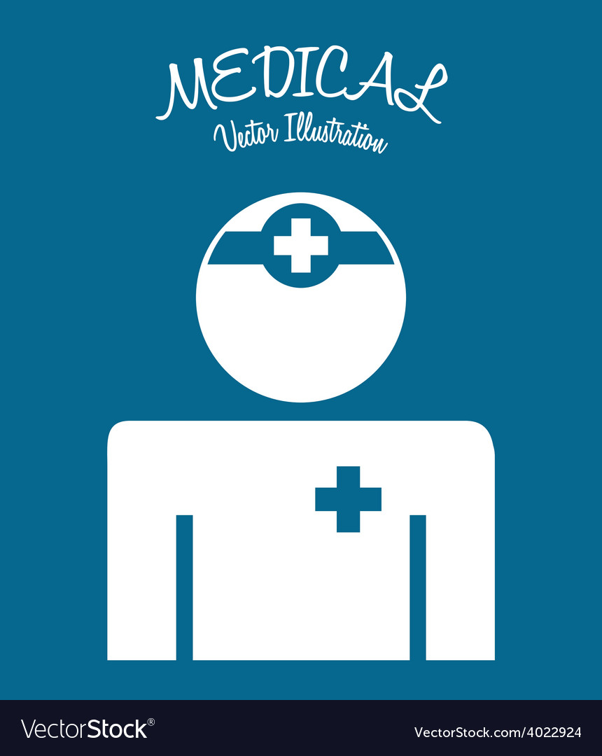 Medical icon vector | Price: 1 Credit (USD $1)