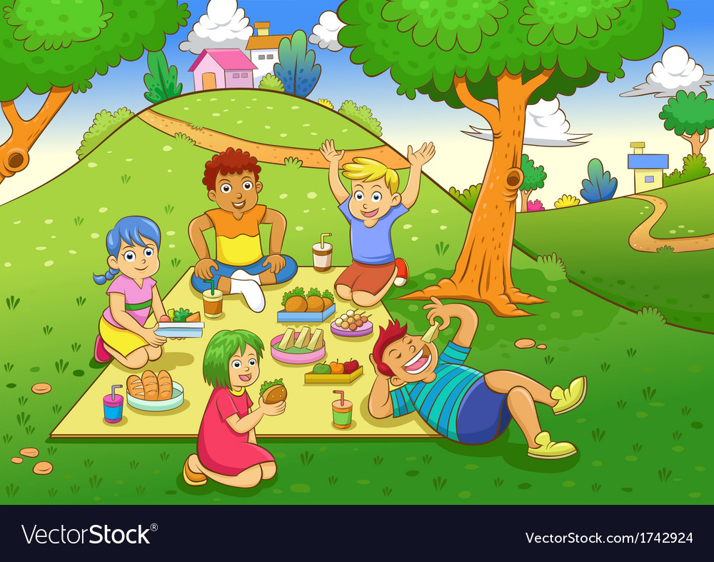 Picnic vector | Price: 3 Credit (USD $3)