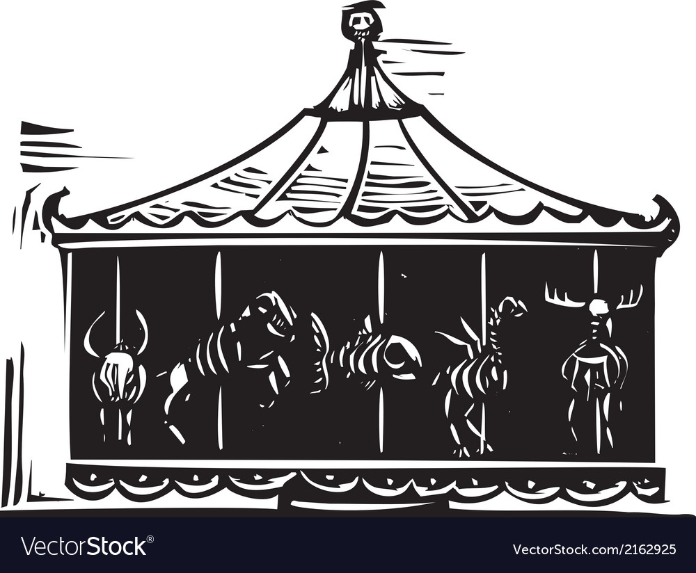 Death carousel vector | Price: 1 Credit (USD $1)