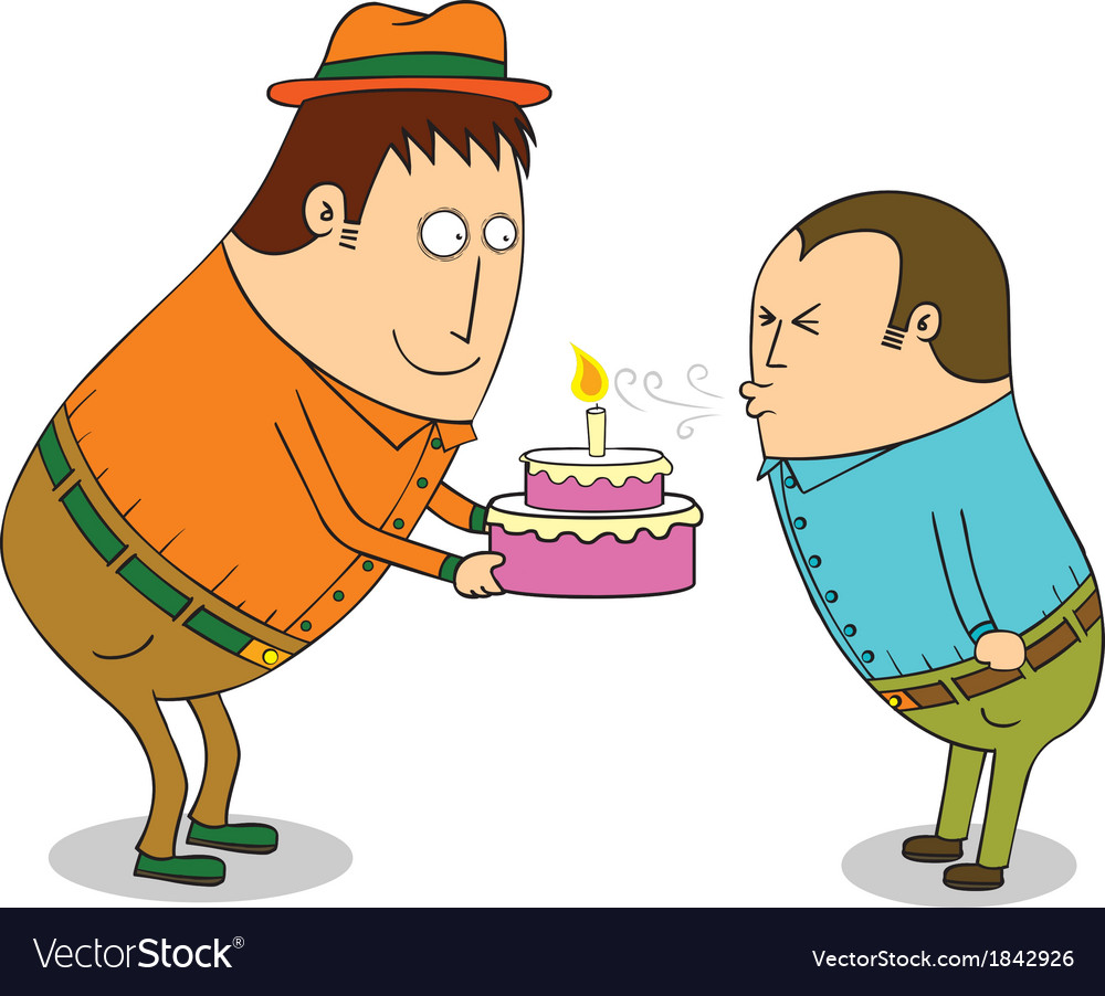 Birthday celebration vector | Price: 1 Credit (USD $1)
