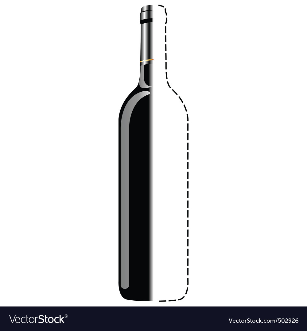 Bottle sketch vector | Price: 1 Credit (USD $1)