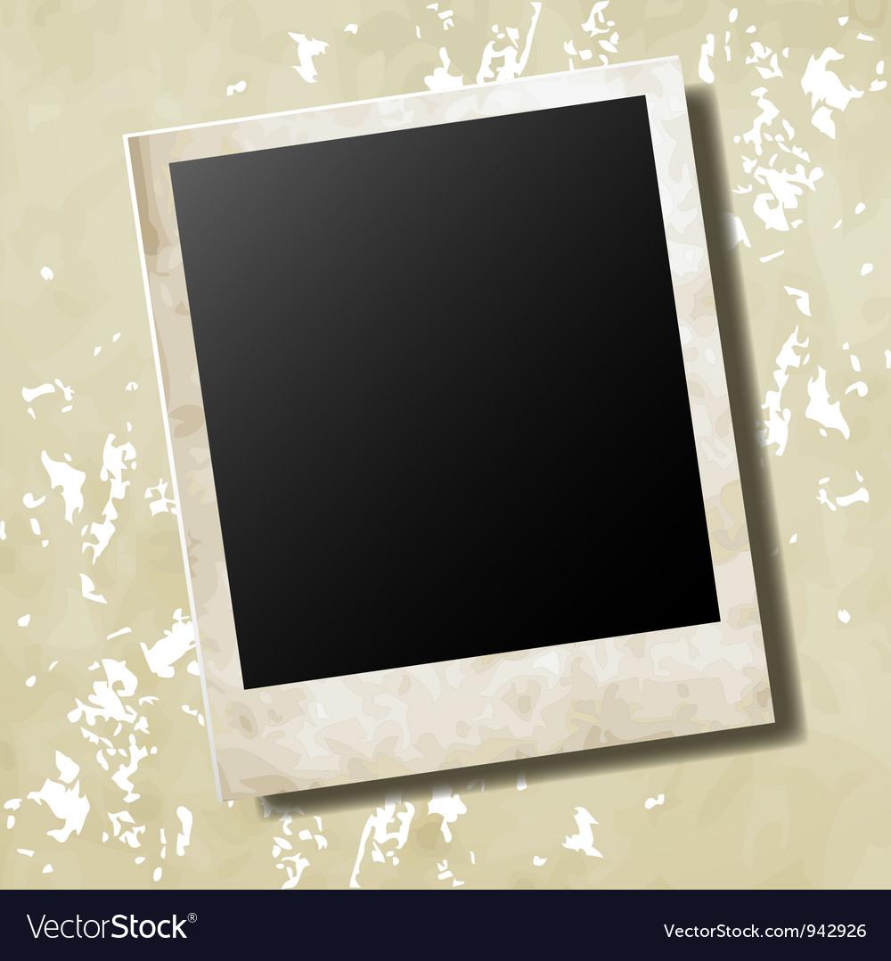 Photo card vector | Price: 1 Credit (USD $1)