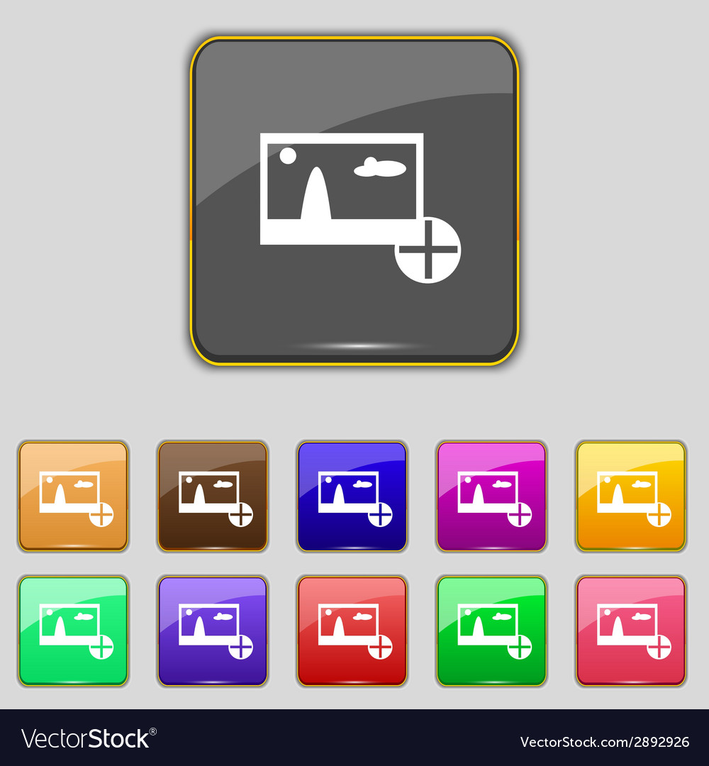 Plus add file jpg sign icon download image file vector | Price: 1 Credit (USD $1)