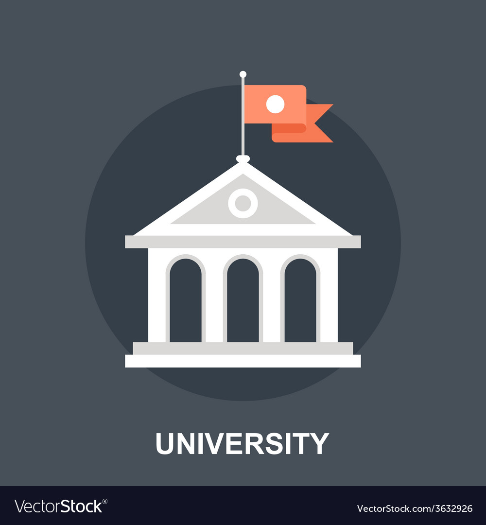 University vector | Price: 1 Credit (USD $1)