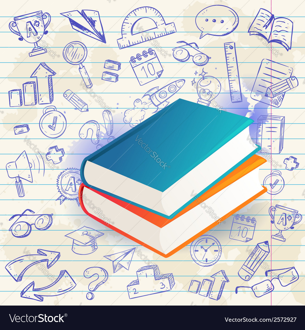 Back to school celebration card vector | Price: 1 Credit (USD $1)