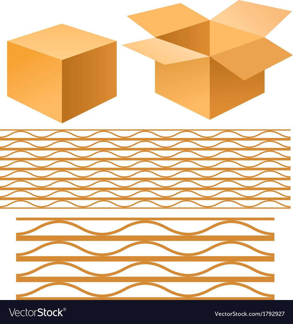 Cardboard box vector   Price: 1 Credit (USD $1)