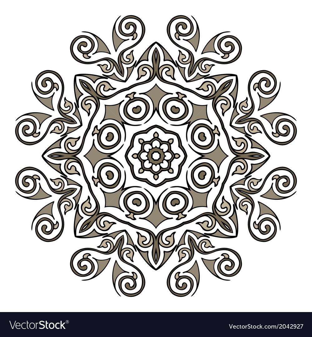 Lace mandala vector | Price: 1 Credit (USD $1)