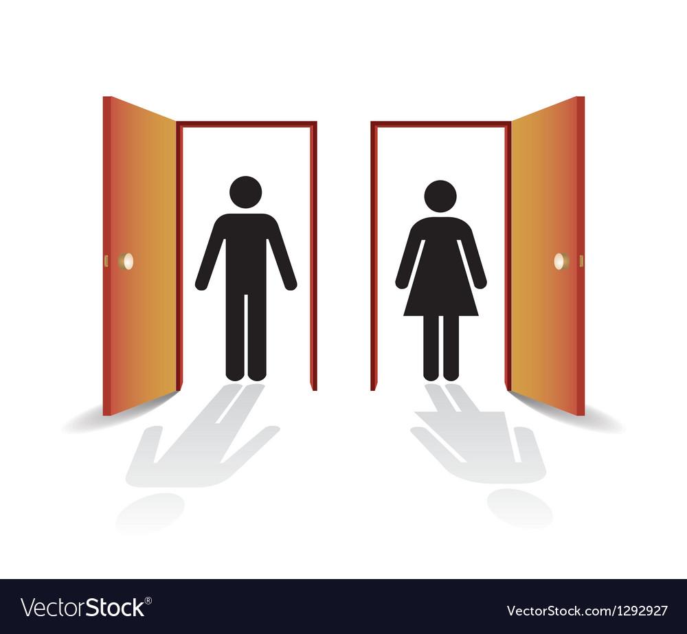 Open doors vector | Price: 1 Credit (USD $1)
