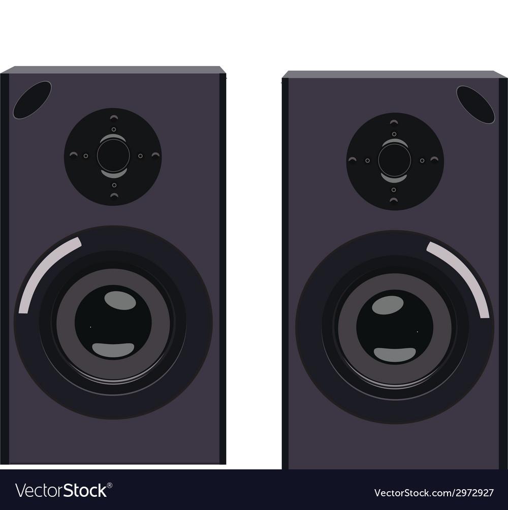 Speakers vector | Price: 1 Credit (USD $1)