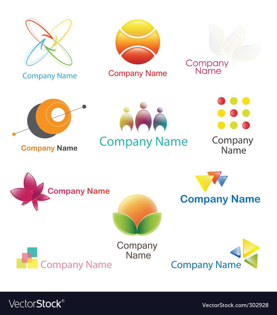 Logo plus icon set vector   Price: 1 Credit (USD $1)