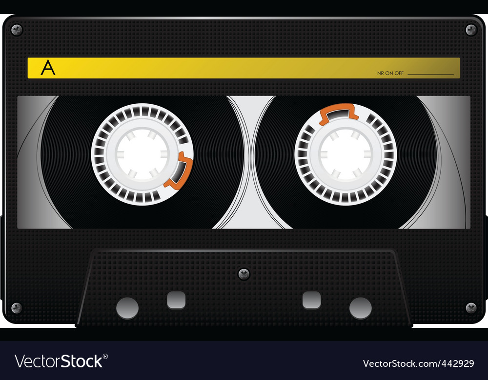 audio cassette vector | Price: 3 Credit (USD $3)