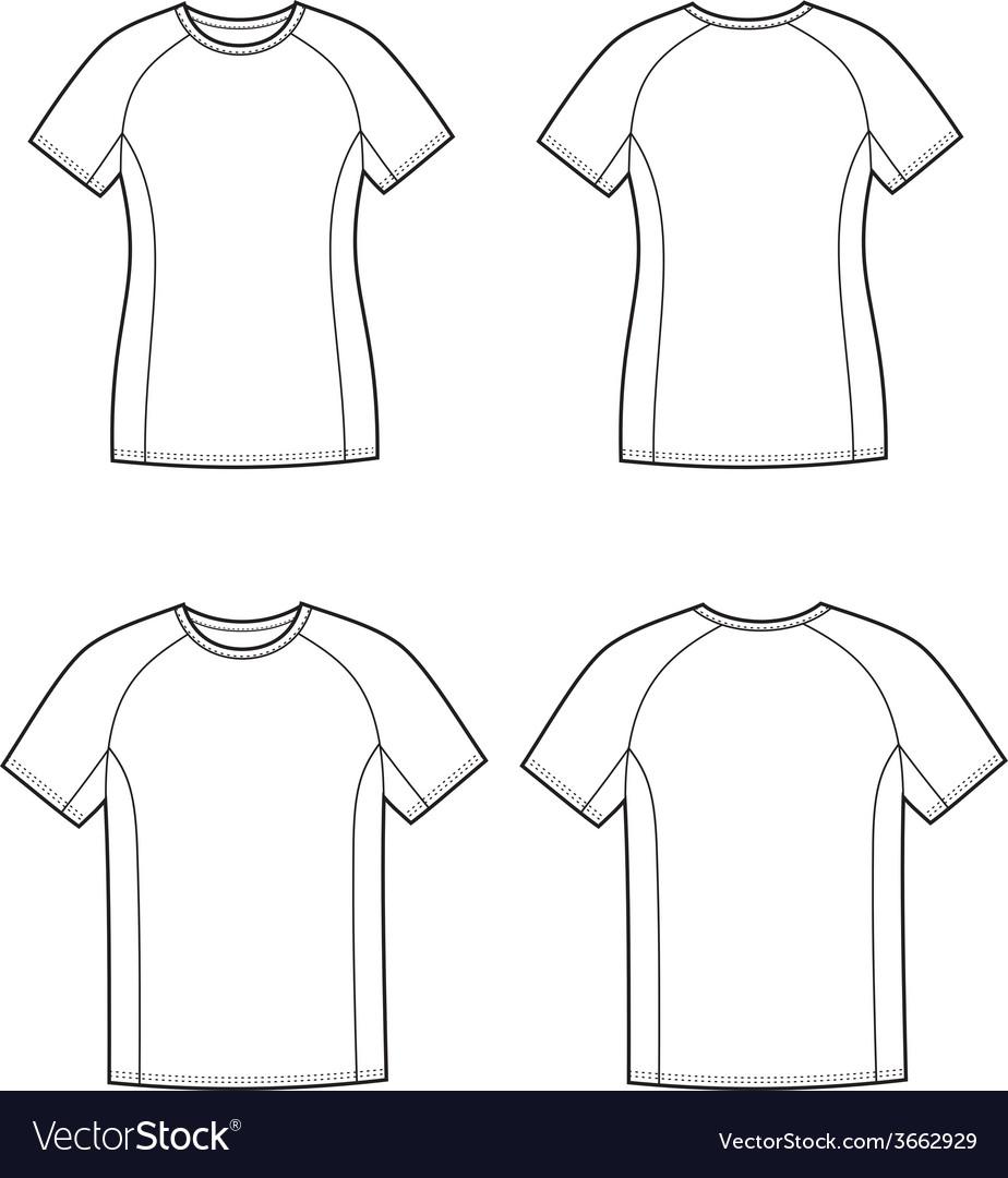 Sport t-shirt vector | Price: 1 Credit (USD $1)