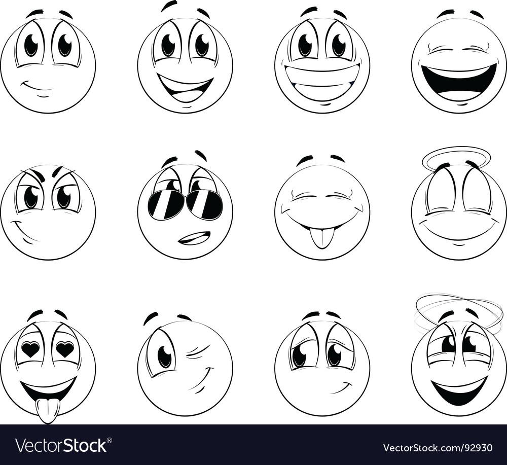 Smiles vector | Price: 1 Credit (USD $1)