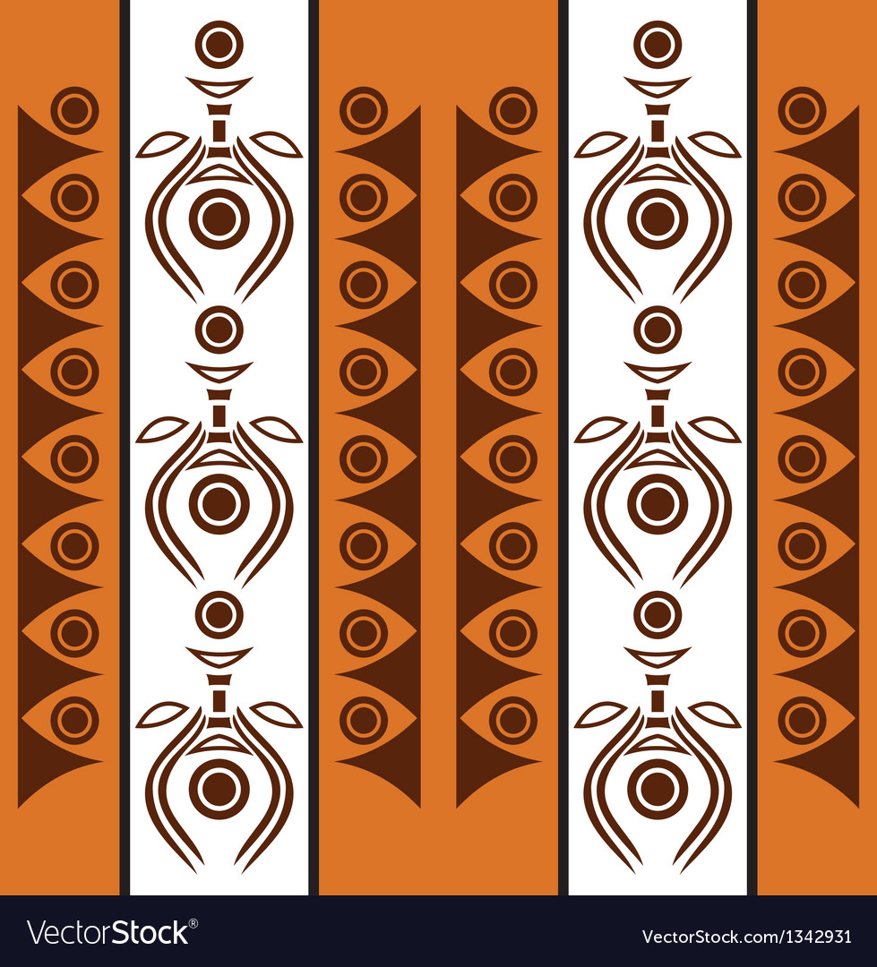 Aboriginal abstract background vector | Price: 1 Credit (USD $1)
