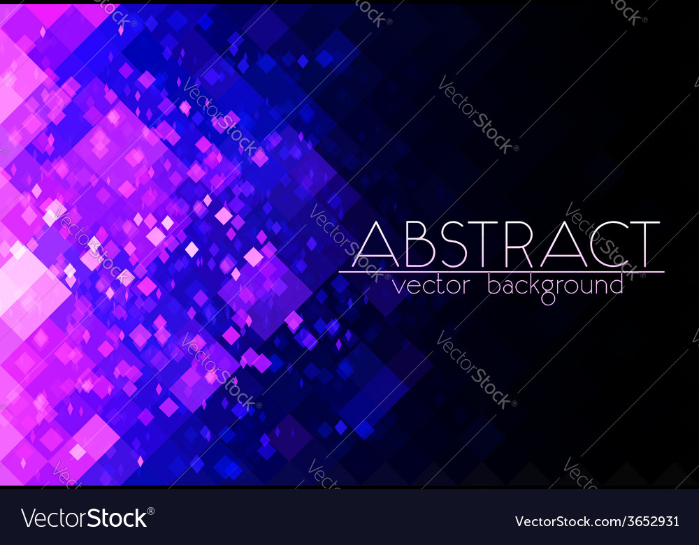 Bright purple grid abstract horizontal background vector | Price: 1 Credit (USD $1)