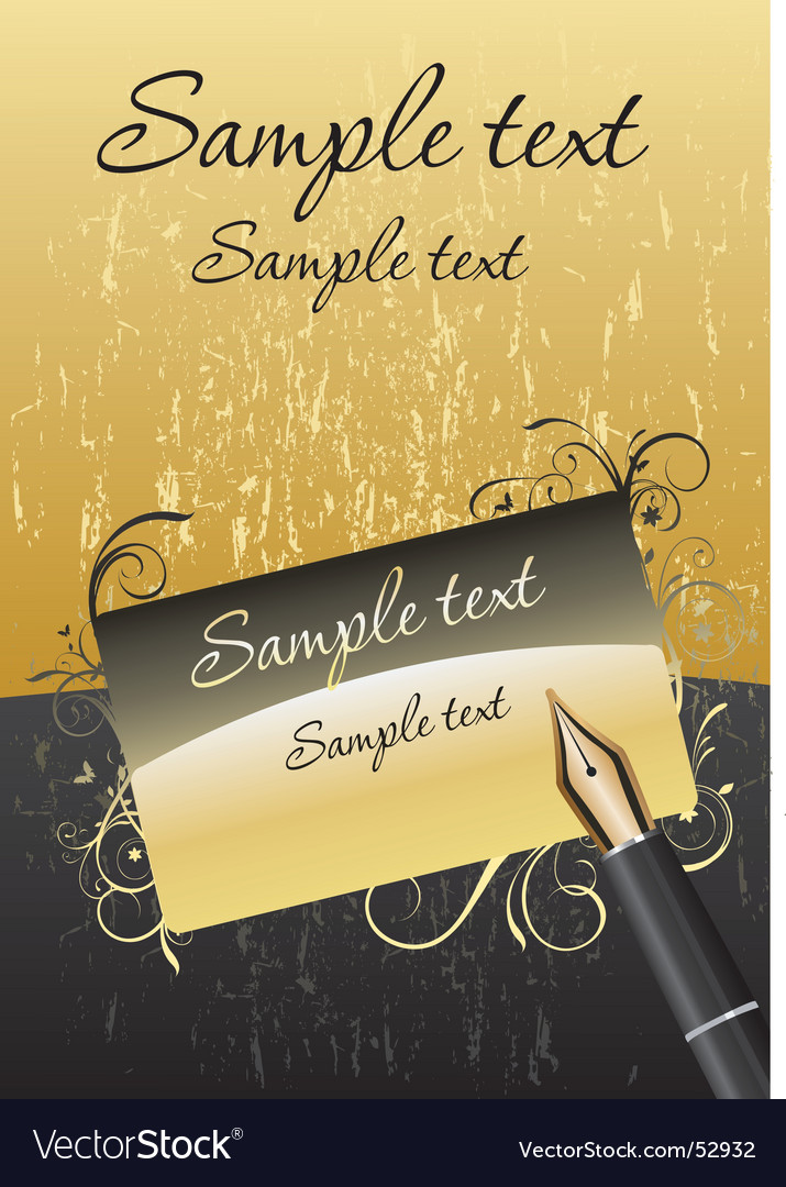 Card gold vector | Price: 1 Credit (USD $1)