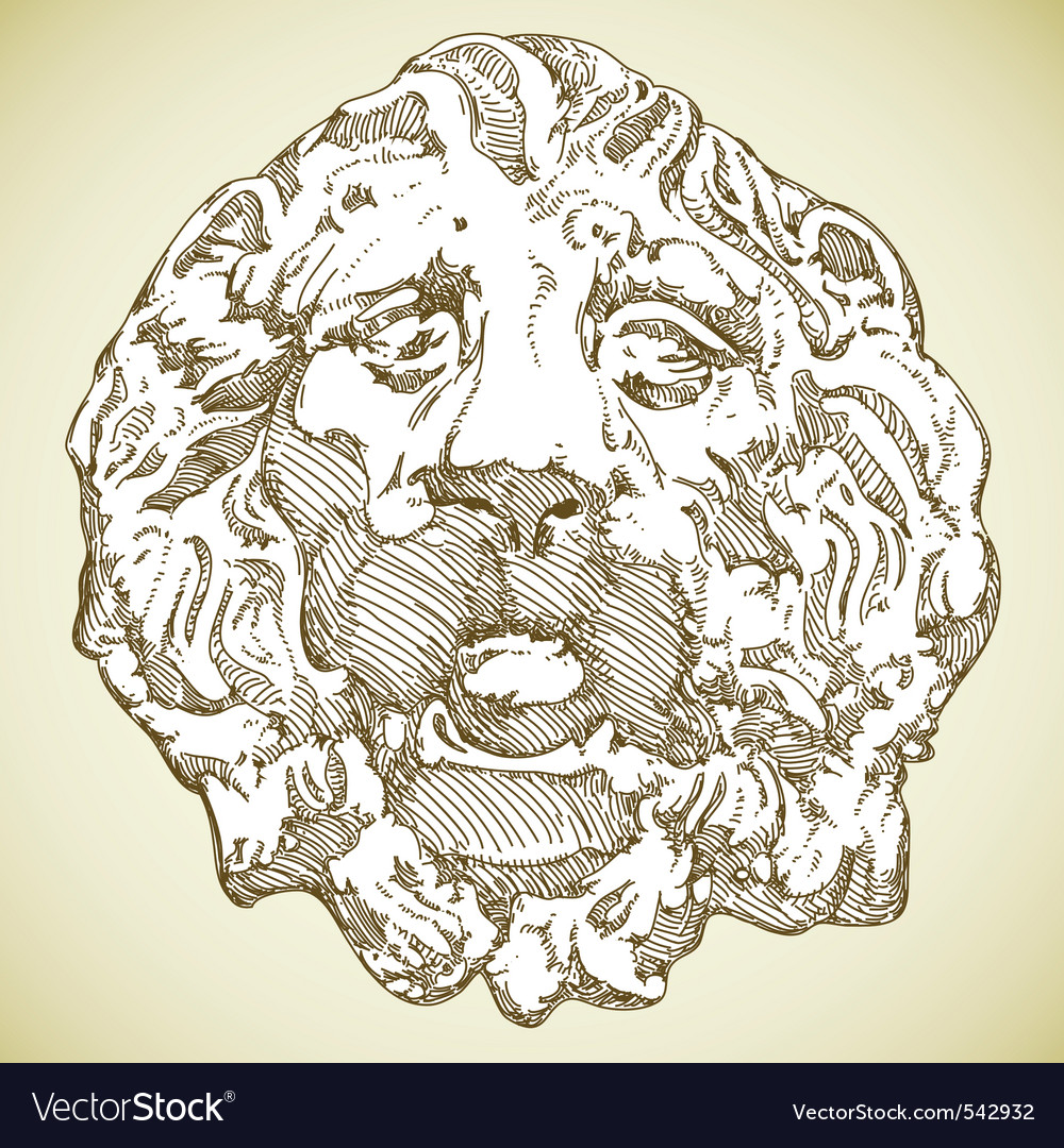 Lion heraldic vector | Price: 1 Credit (USD $1)