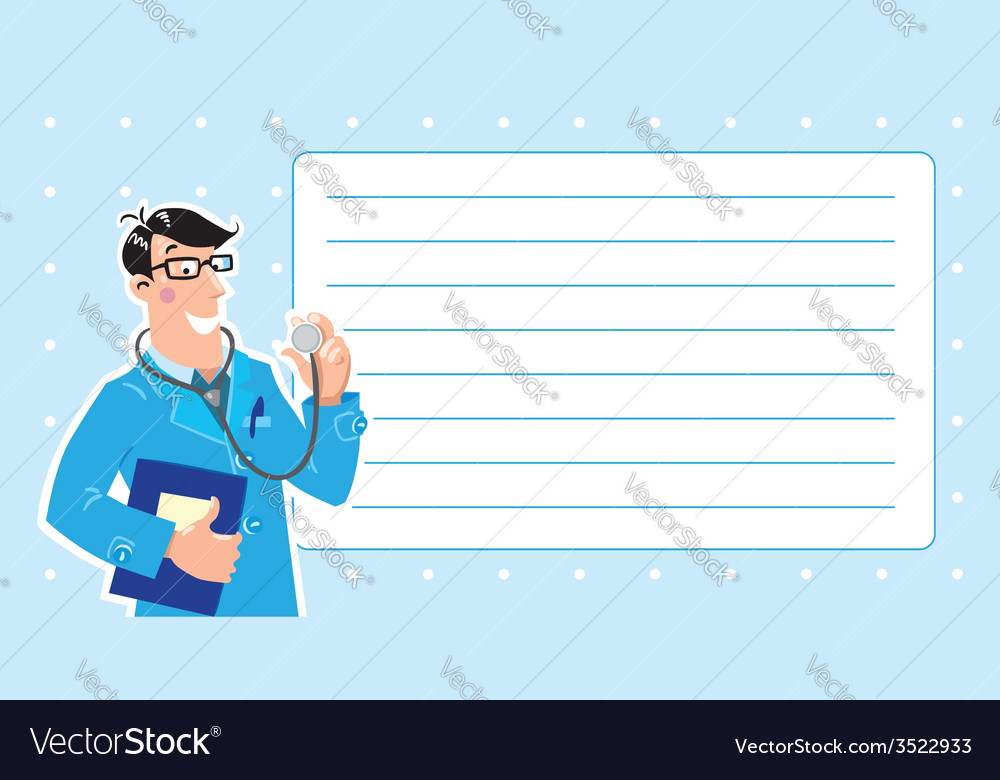 Family doctor design template vector | Price: 1 Credit (USD $1)