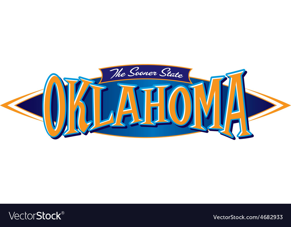 Oklahoma the sooner state vector | Price: 1 Credit (USD $1)