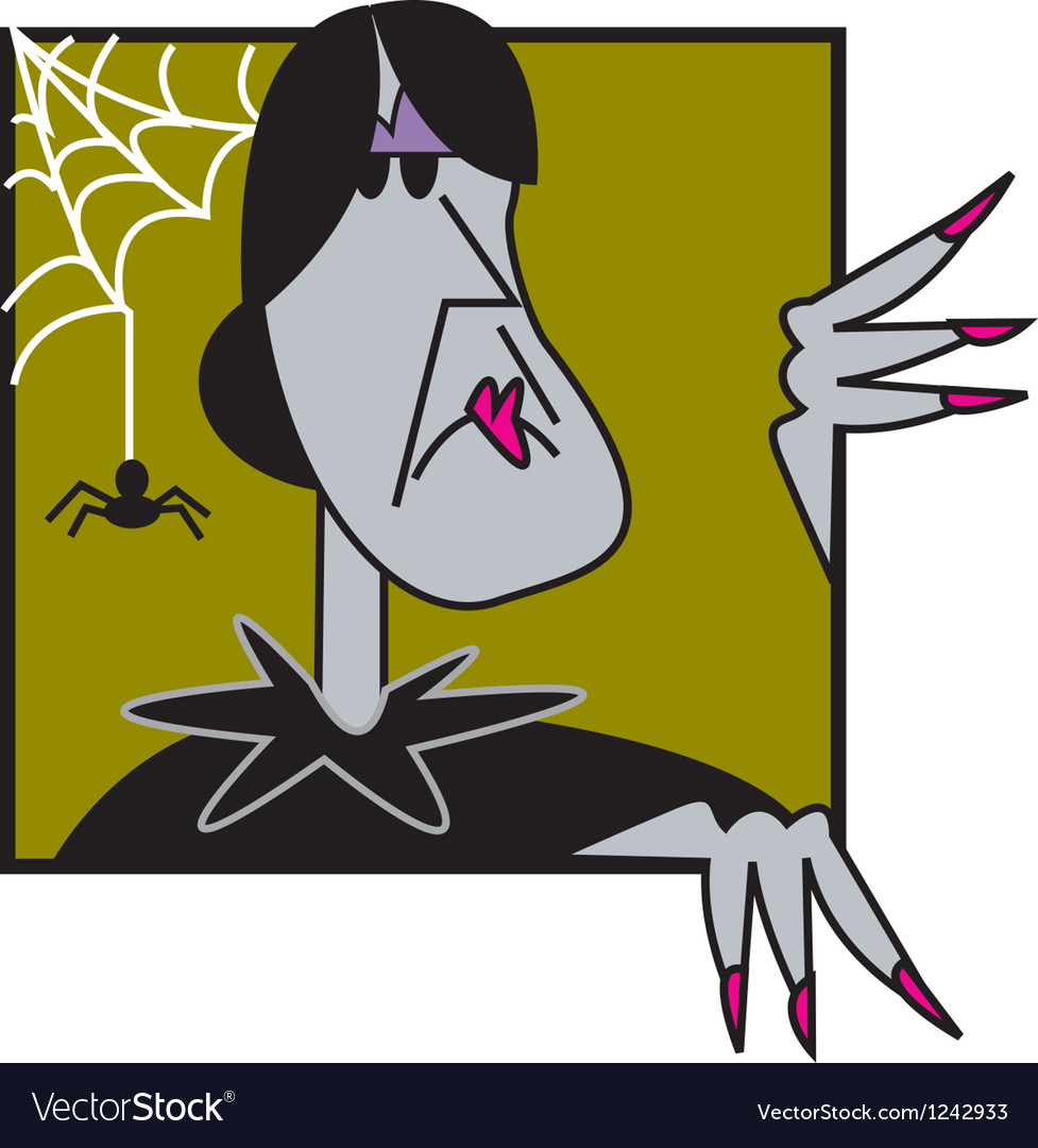 Wicked witch vector | Price: 1 Credit (USD $1)