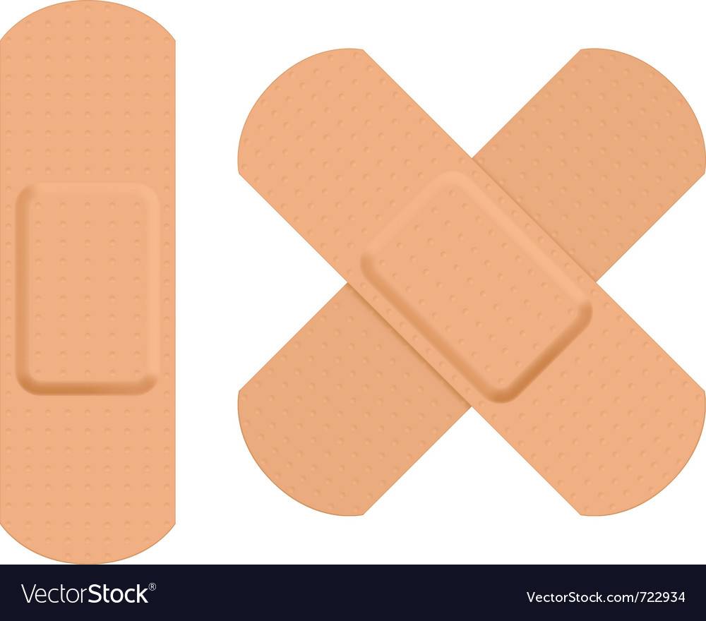First aid plaster vector | Price: 3 Credit (USD $3)