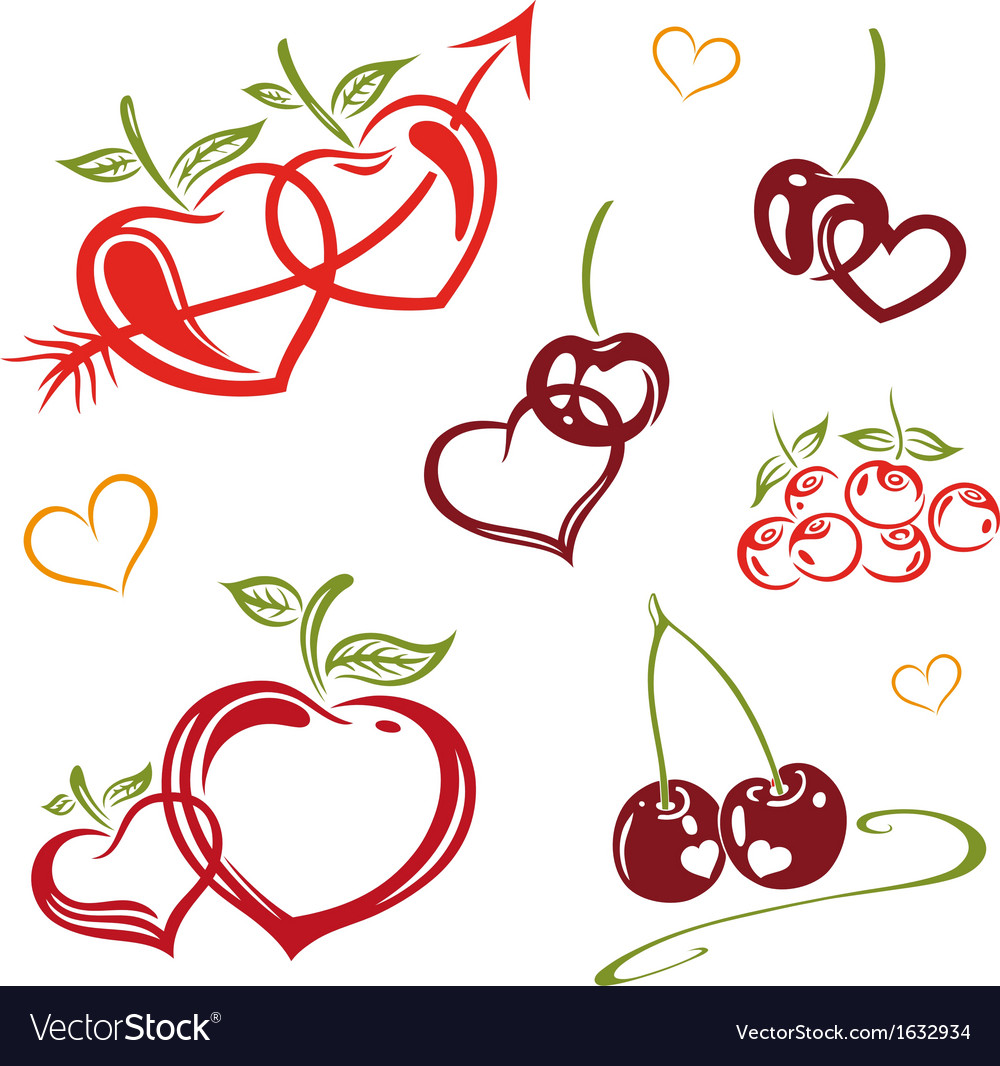 Fruits raw food vector | Price: 1 Credit (USD $1)