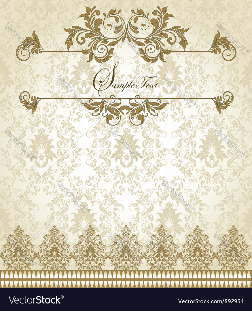 Vintage lace vector | Price: 1 Credit (USD $1)