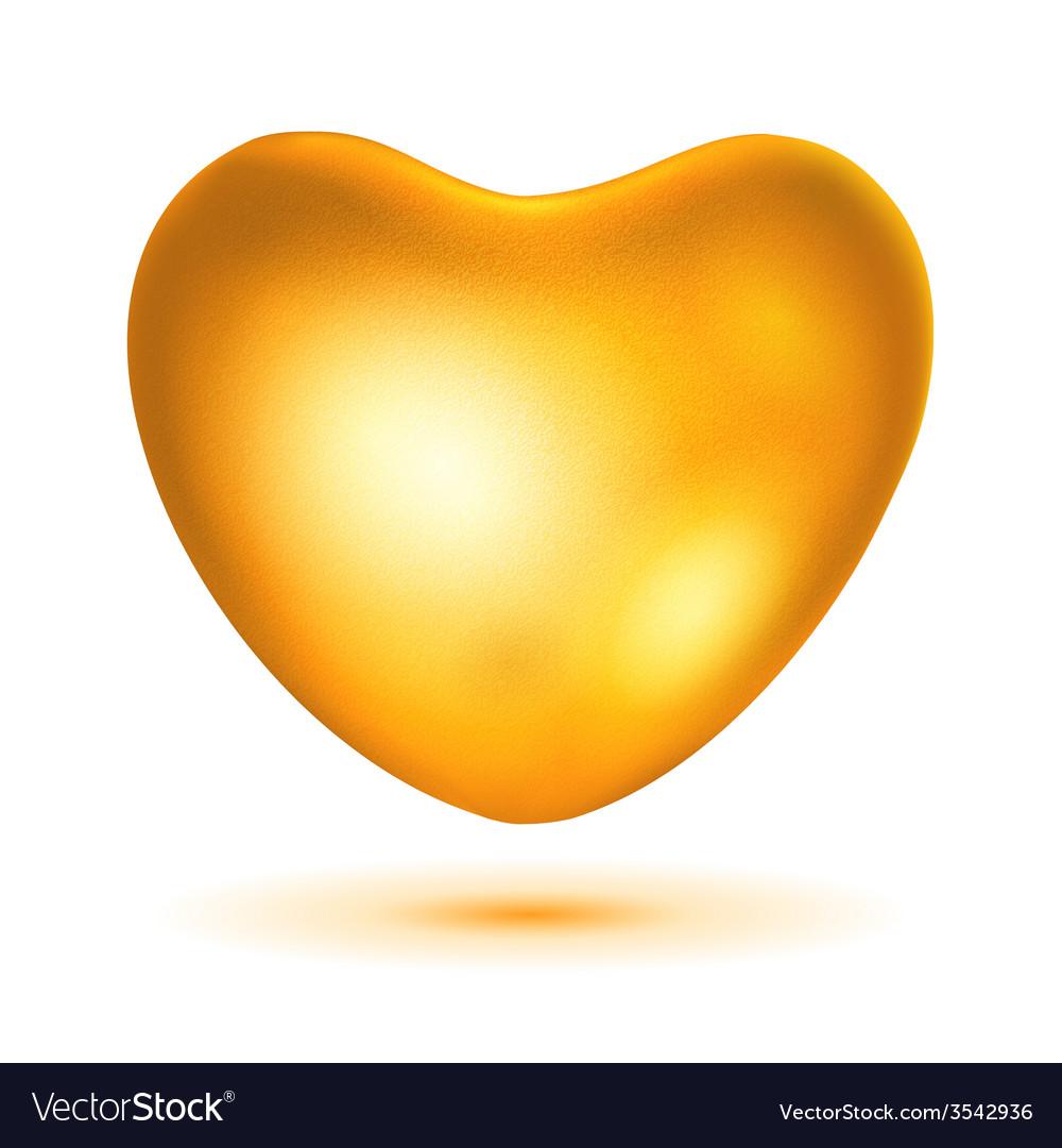 Big gold heart vector   Price: 1 Credit (USD $1)