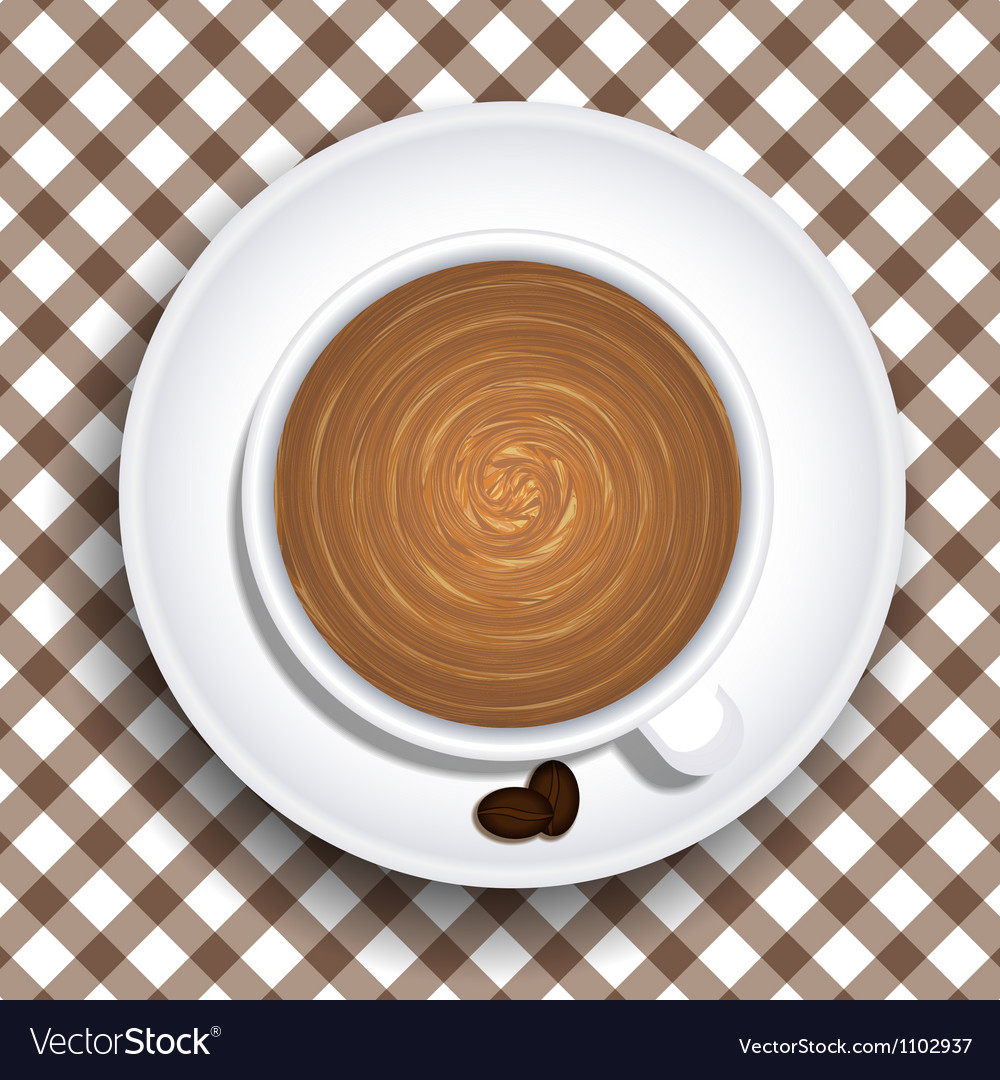 Cups of coffee vector | Price: 1 Credit (USD $1)