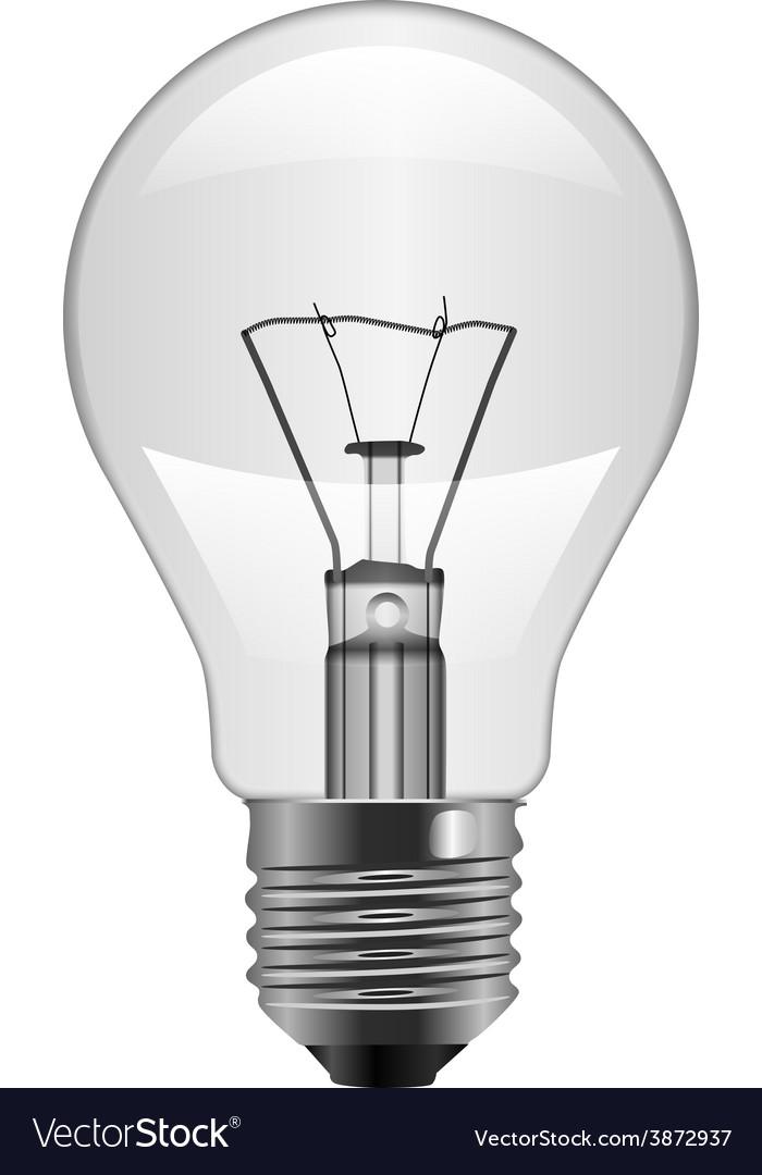 Light bulb vector | Price: 1 Credit (USD $1)