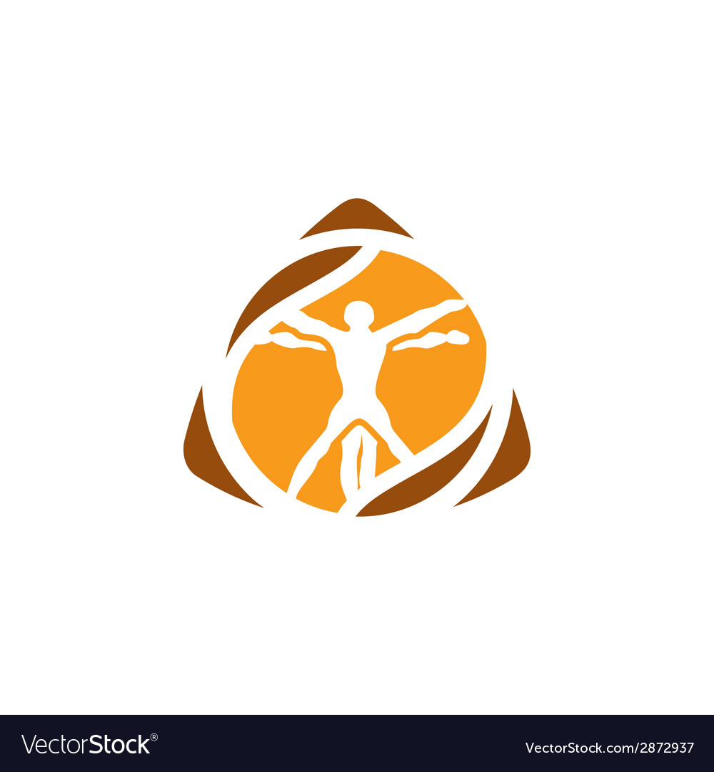 Vetruvian man sign vector | Price: 1 Credit (USD $1)