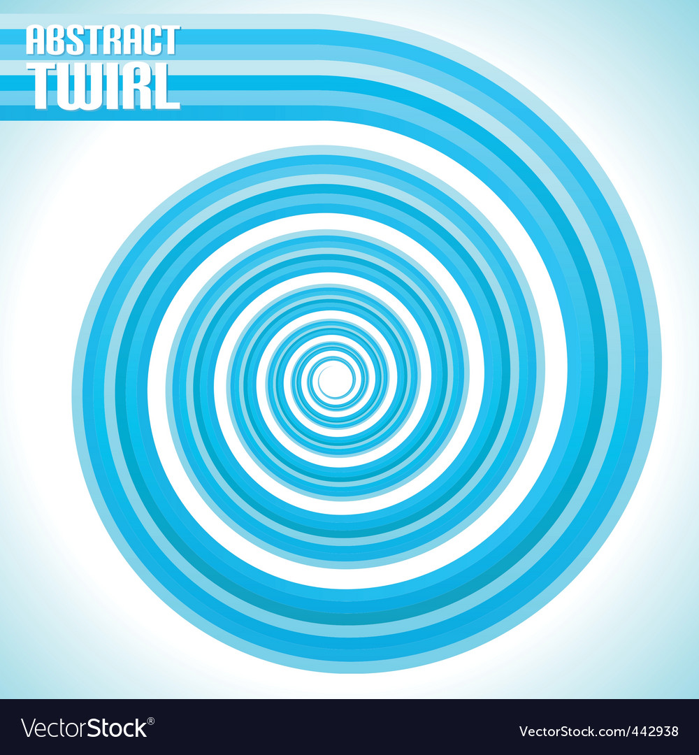 Abstract twirl vector | Price: 1 Credit (USD $1)