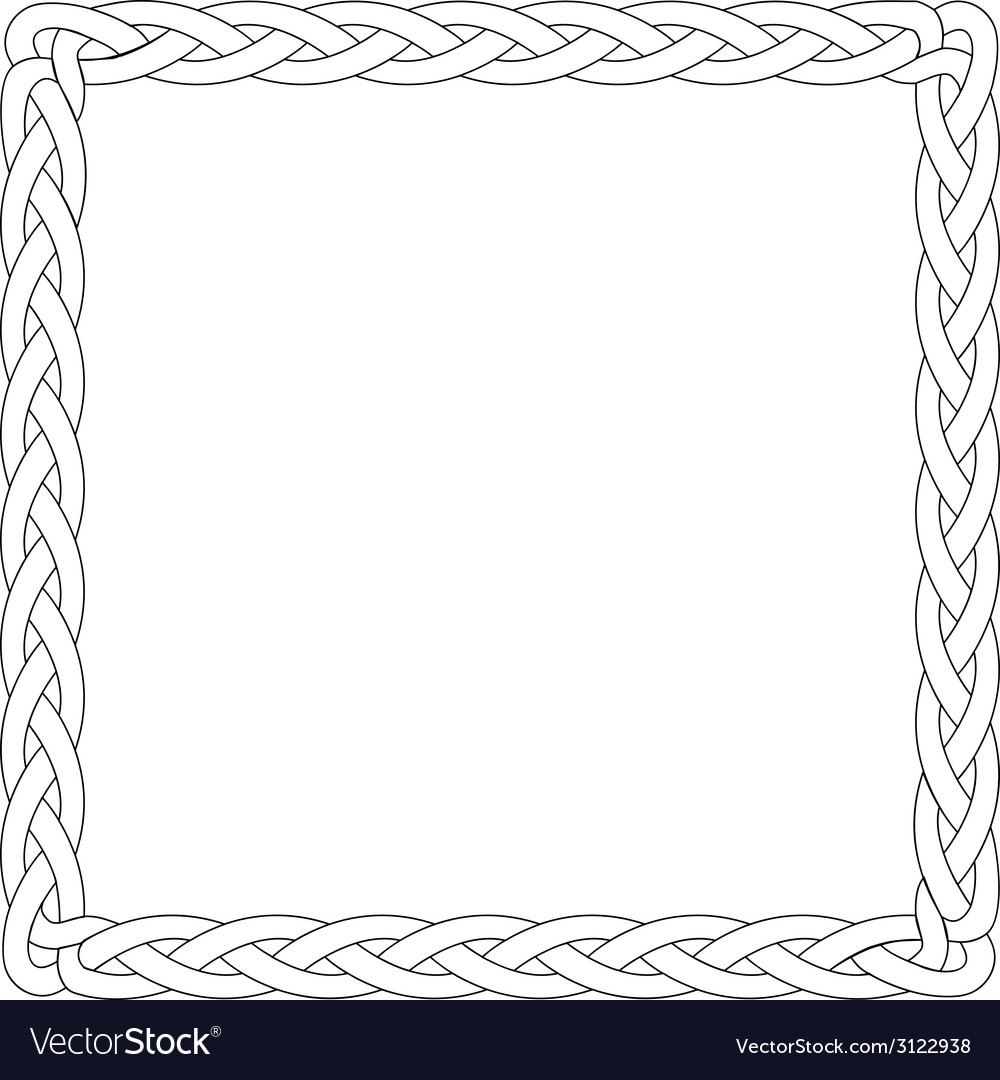 Black line box braid vector   Price: 1 Credit (USD $1)