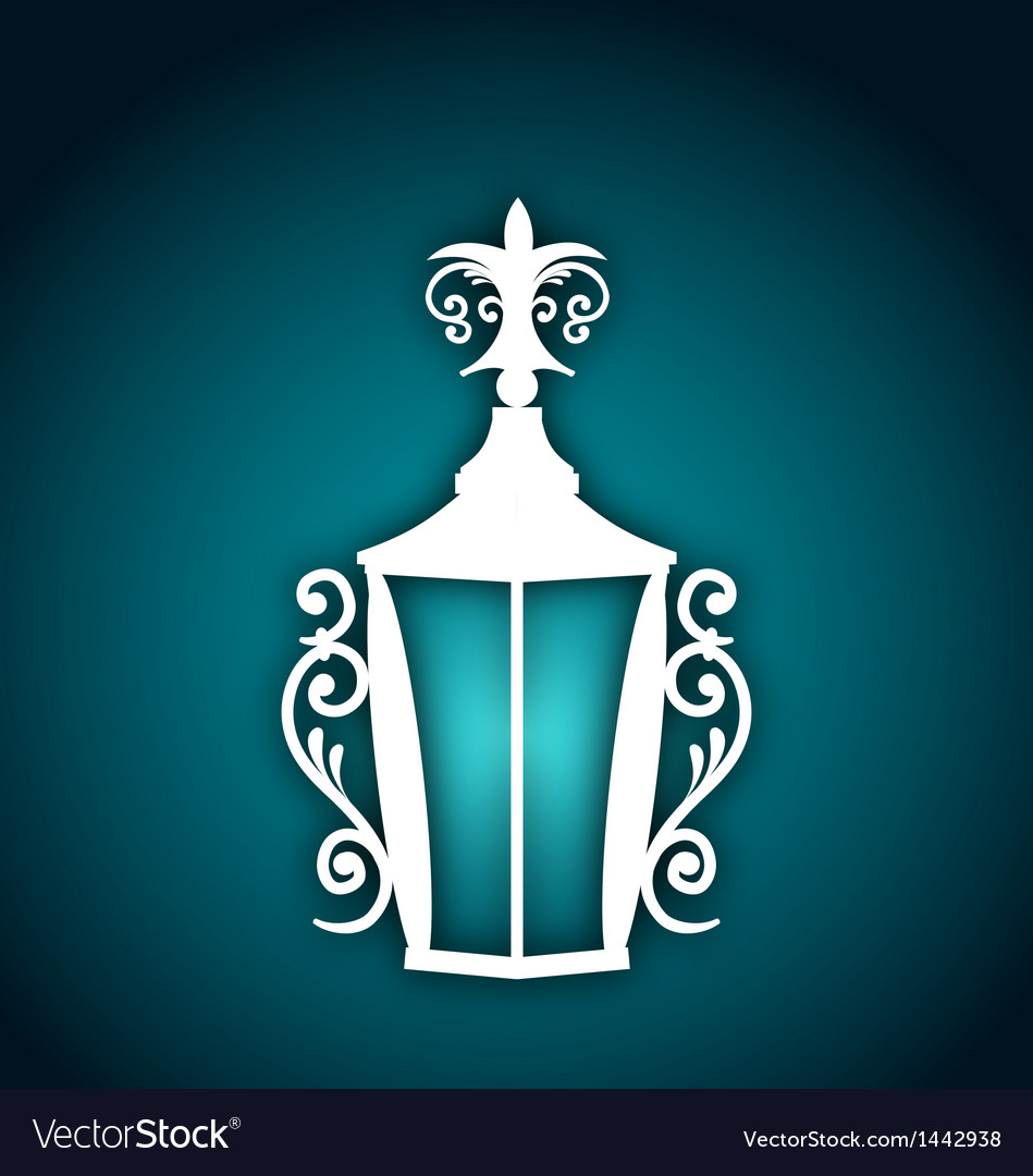 Forging lantern for ramadan kareem vector | Price: 1 Credit (USD $1)