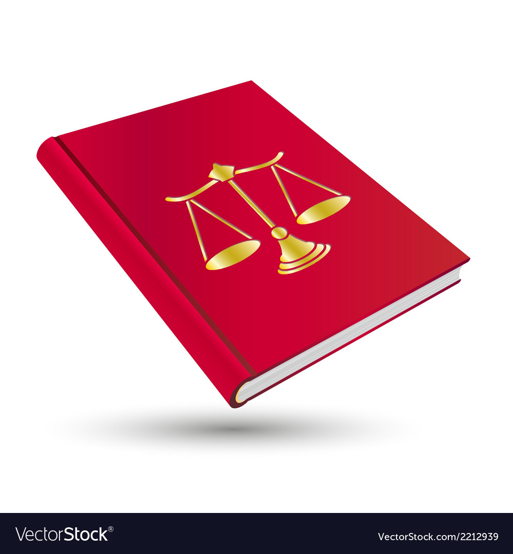 Legal book vector | Price: 1 Credit (USD $1)