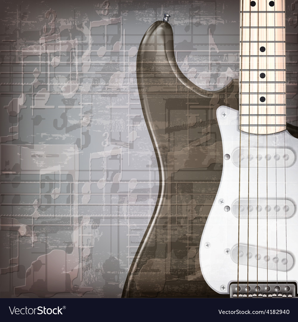 Abstract grunge gray music background with vector | Price: 3 Credit (USD $3)
