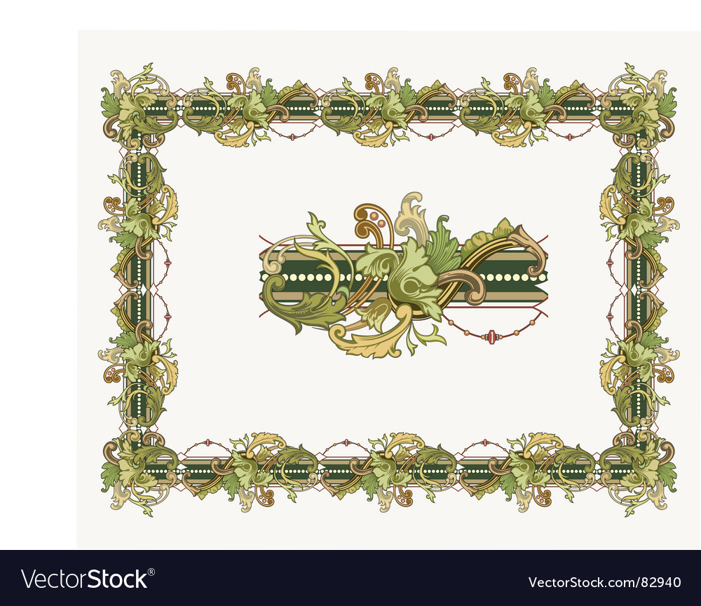 Certificate border vector | Price: 1 Credit (USD $1)