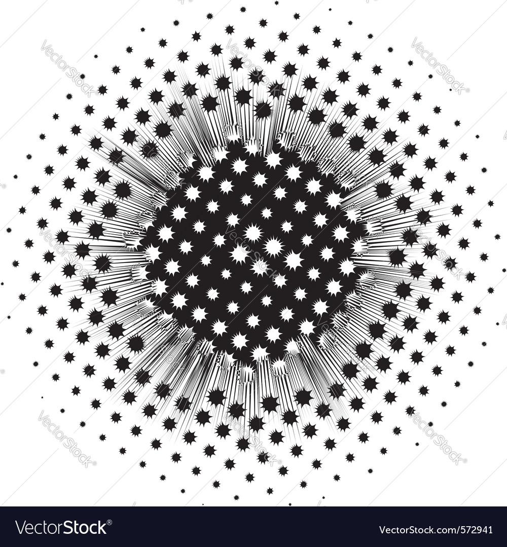 Background with abstract black round spots vector | Price: 1 Credit (USD $1)