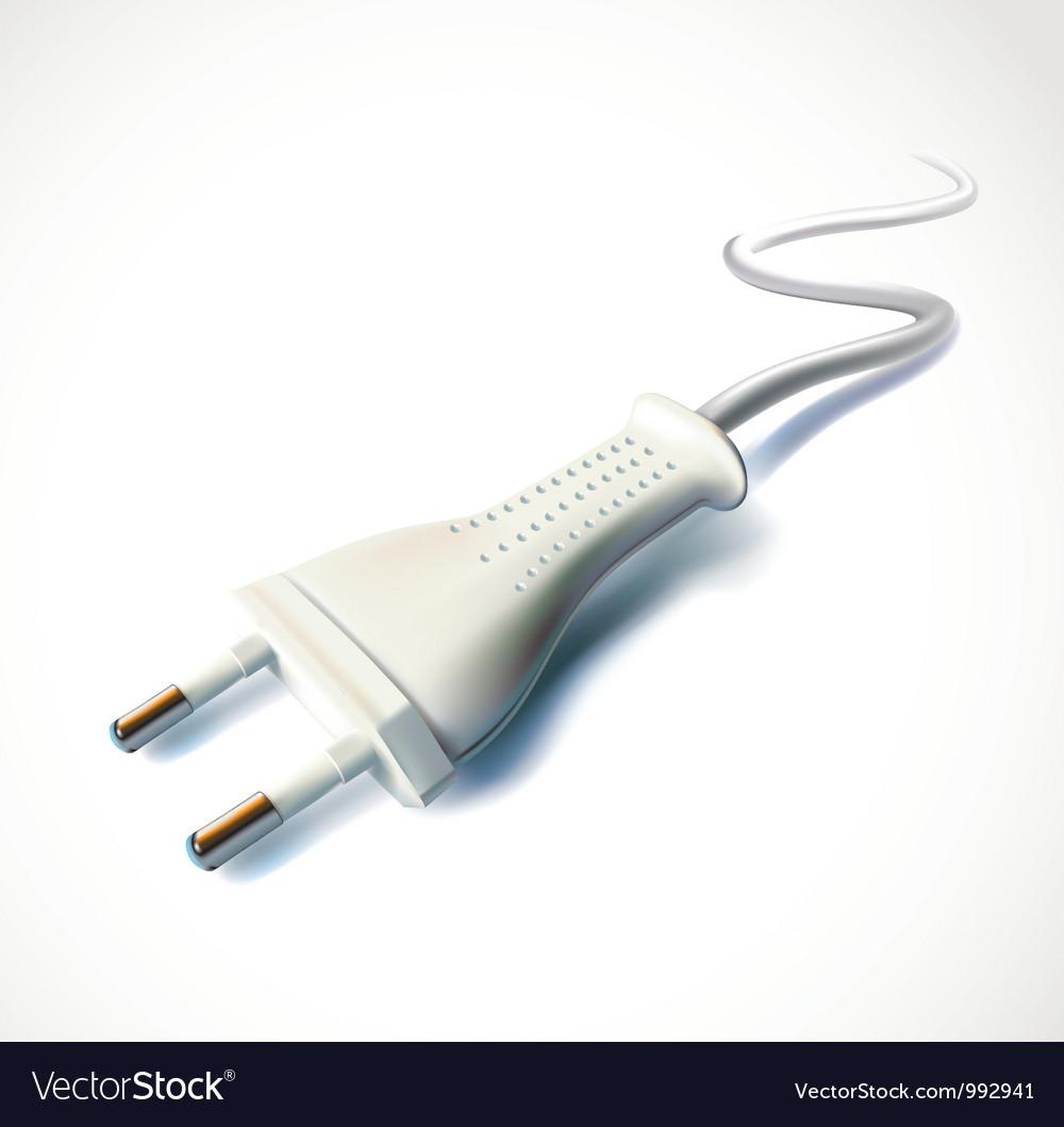 Electric plug vector | Price: 3 Credit (USD $3)