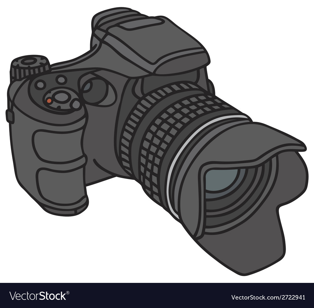 Photographic camera vector | Price: 1 Credit (USD $1)