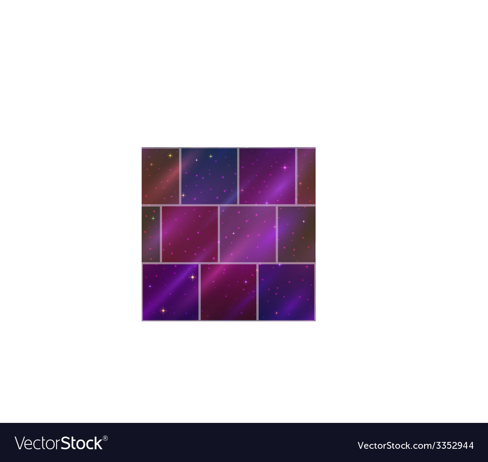 Abstract space background seamless vector | Price: 1 Credit (USD $1)