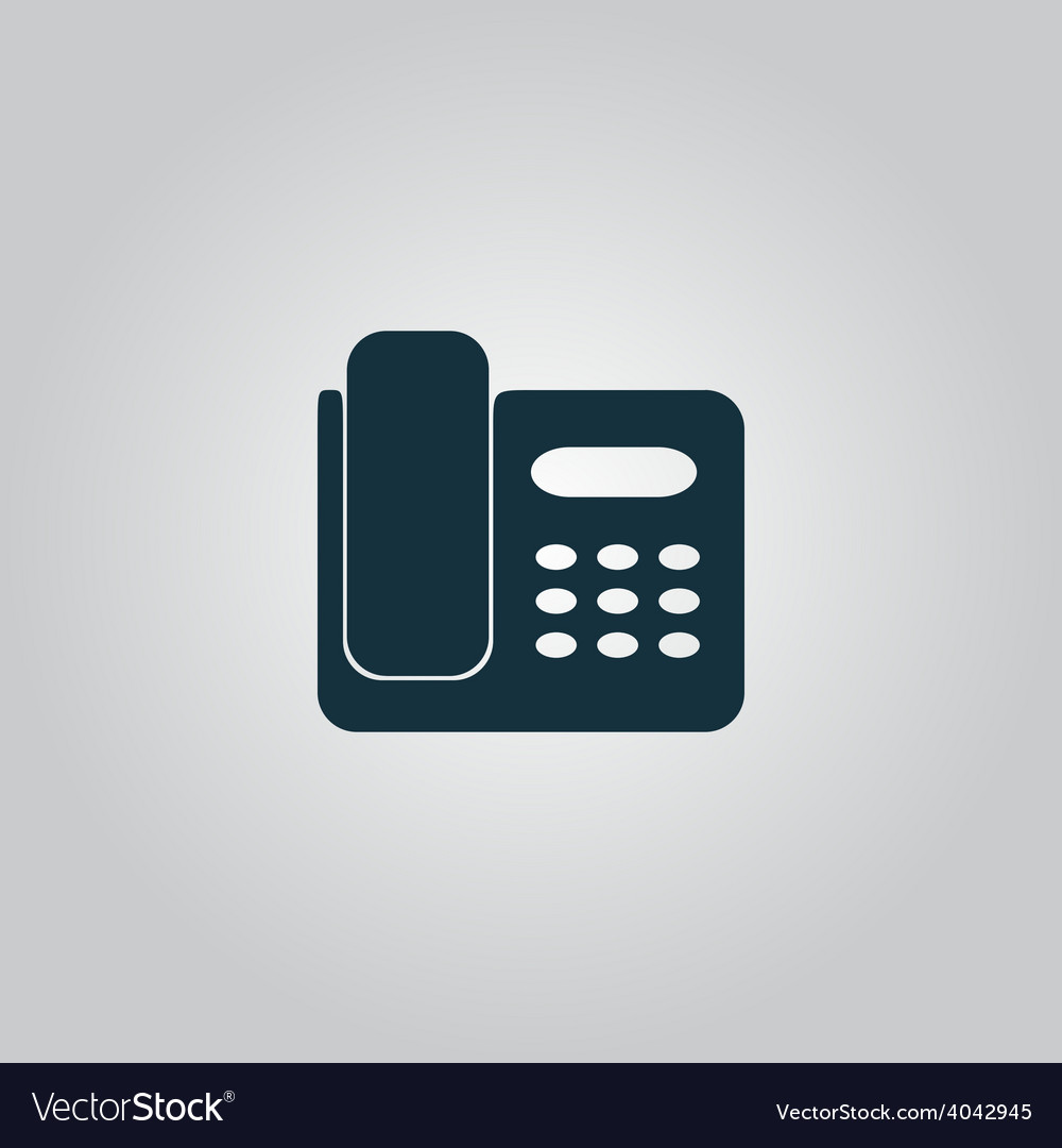 Fax machine vector | Price: 1 Credit (USD $1)