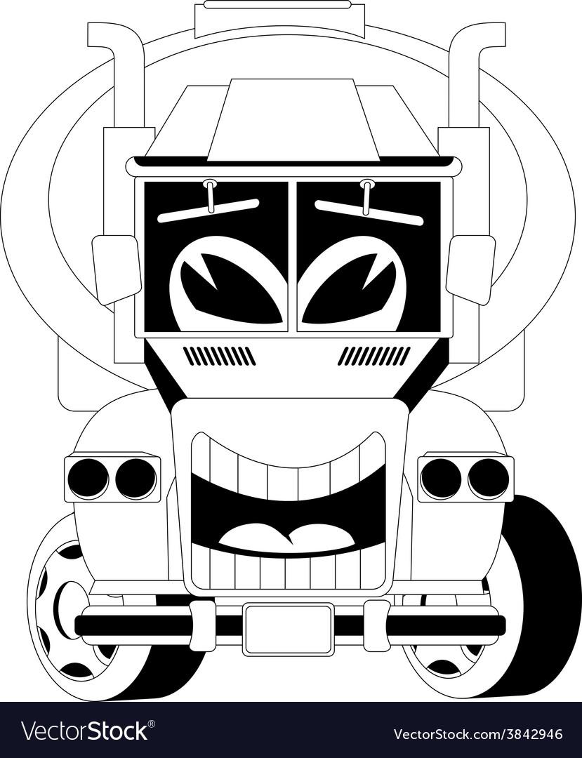 Cartoon car vector | Price: 1 Credit (USD $1)