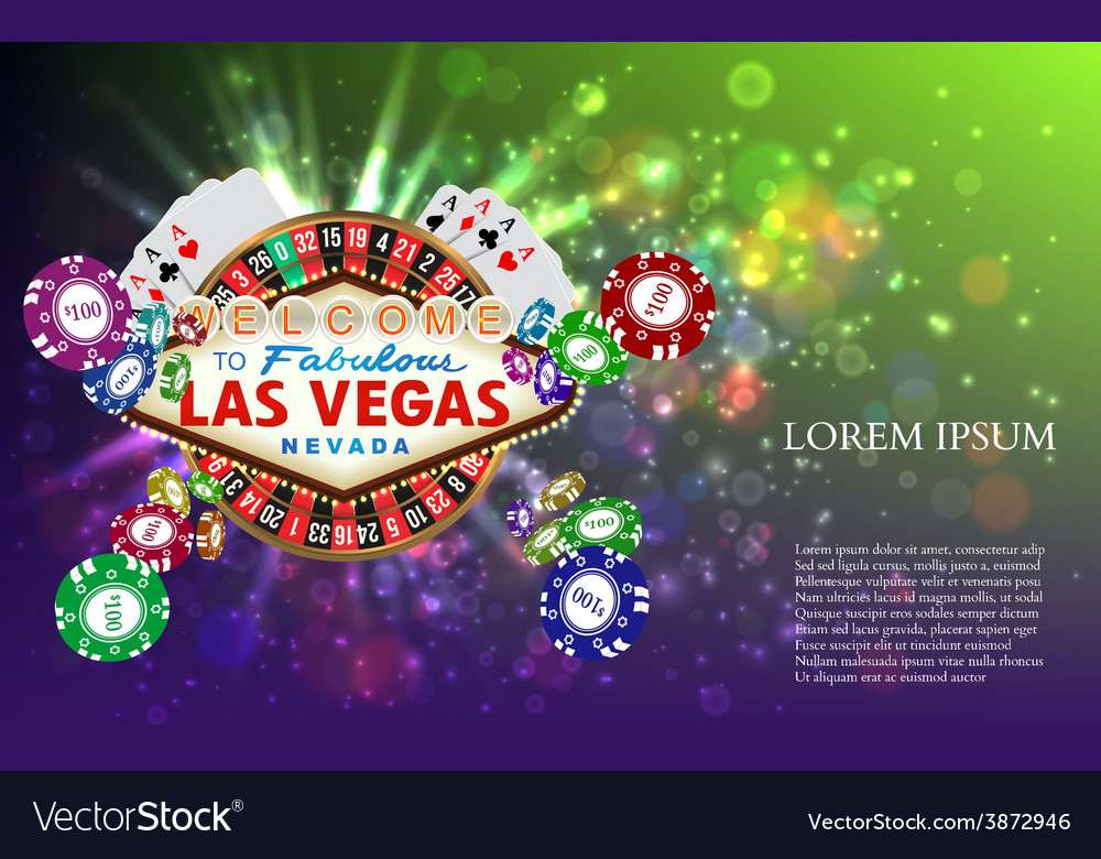 Casino roulette playing cards witn falling chips vector   Price: 1 Credit (USD $1)