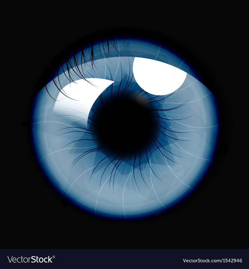 Eye vector | Price: 1 Credit (USD $1)