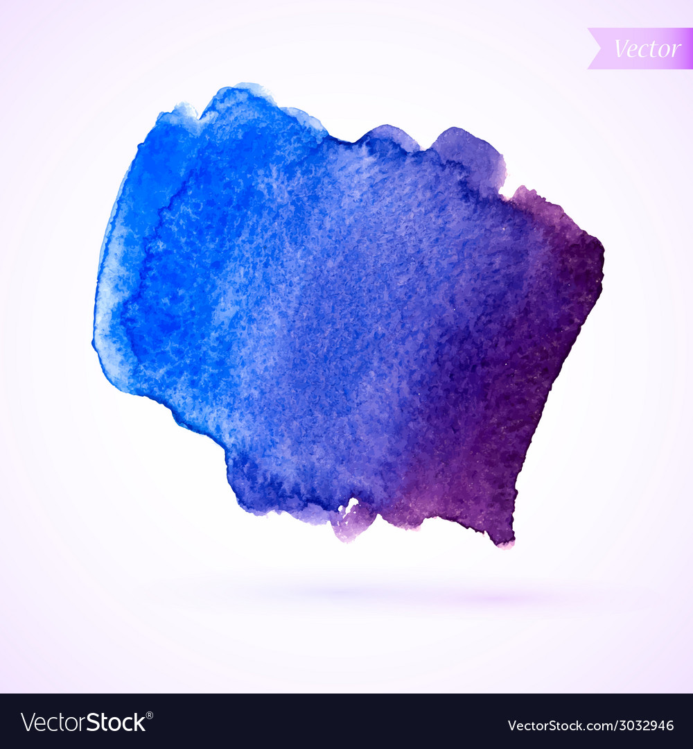Watercolor stain vector | Price: 1 Credit (USD $1)