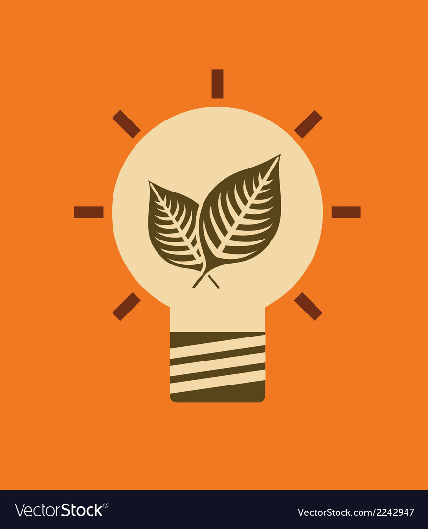 Bulb idea design vector | Price: 1 Credit (USD $1)